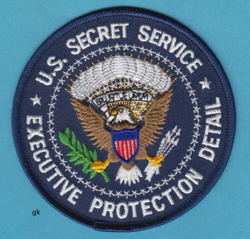 SECRET SERVICE  EXECUTIVE PROTECTION DETAIL  POLICE SHOULDER PATCH
