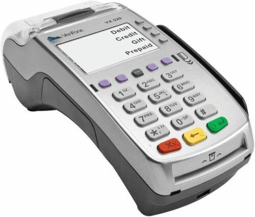 VeriFone VX 520 VX520 Credit Card Machine Terminal Ethernet Chip Reader Swipe