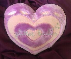 Glitter Babes radio pillow