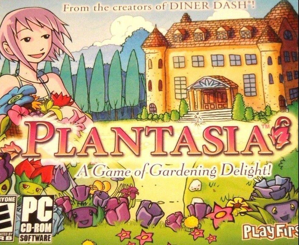 Computer Games - Plantasia PC Games Windows 10 8 7 XP Computer farmville gardening sim plant NEW