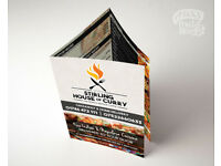 Takeaway Menu Printing + Design | UK | Takeaway Menus Designed, Printed & Delivered