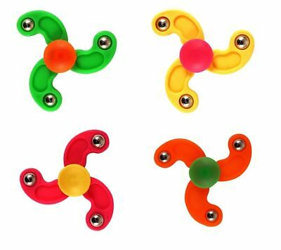 Mini Fidget Finger Spinners Kids Boys Girls Kids Xmas Party Bag Loot Filler Toys