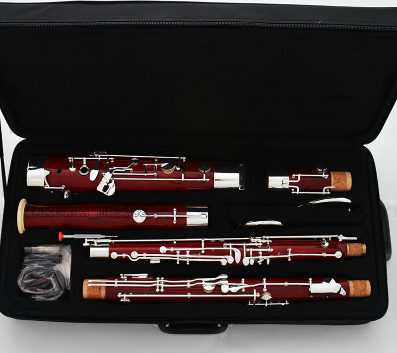 Professional Five sections Bassoon Maple Wooden material C key Germany design
