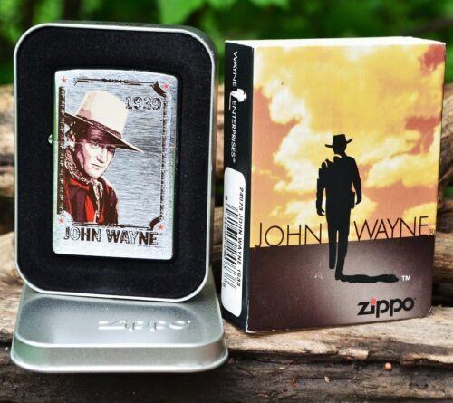 Zippo Lighter - John Wayne Collection - The Duke - 1939 - Stagecoach - # 24073