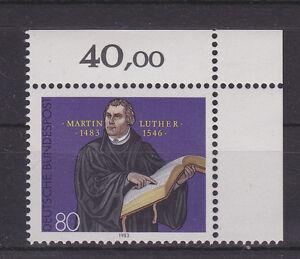 Alemania-Federal-RFA-1983-Mi-1193-MNH-Martin-Luther-ESQUINA-2