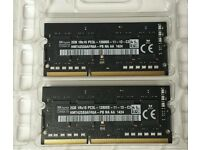 4 GB (2X2 GB) RAM MEMORY PC3L-12800 MACBOOK PRO