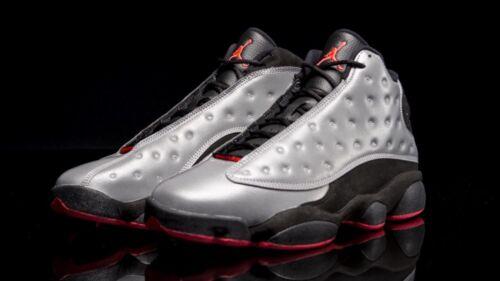 size 40 ce344 62e4d ... UPC 888407972799 product image for 2014 Nike Air Jordan 13 Xiii Retro  Prm Reflective Silver 3m ...