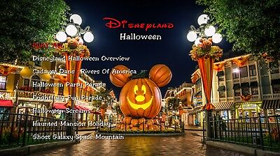 Disneyland Halloween DVD 1/2 (Haunted Mansion Holiday, Halloween Screams) (Disney Halloween Screams)