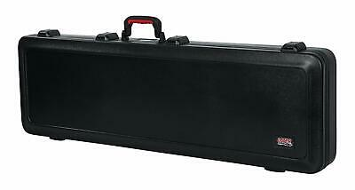 Gator Cases Molded Flight Case For Bass Guitar With TSA Approved Locking Latch