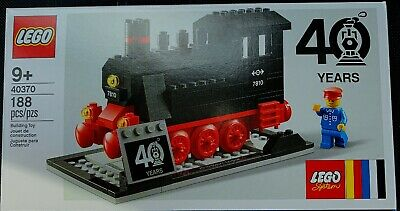 LEGO 40370  Iconic Steam Engine 7810 New Factory Sealed Box free ship in hand