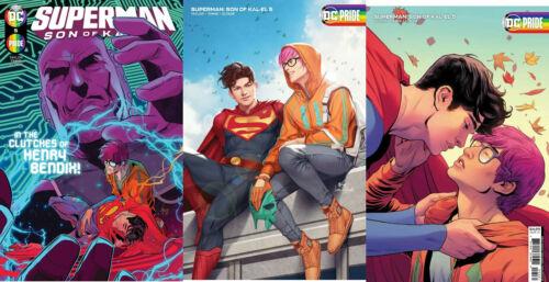SUPERMAN SON OF KAL-EL 5 3 PACK 1st MOORE LEE VARIANT BI-SEXUAL PRE-SALE 11/10