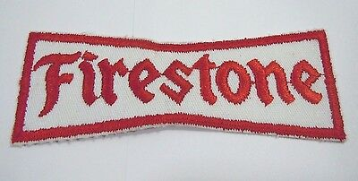 Firestone Embroidered Sew On Uniform Jacket Patch 5  X 1 1 2