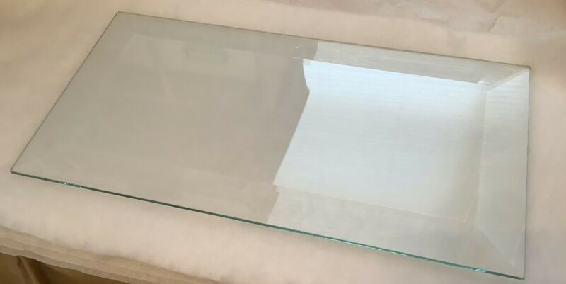 Clear Beveled Glass Panes