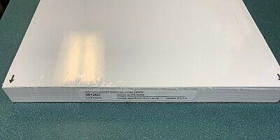 100 Laser Gloss Glossy White 14mm Standard Dvd Case Artwork Insert 30126c