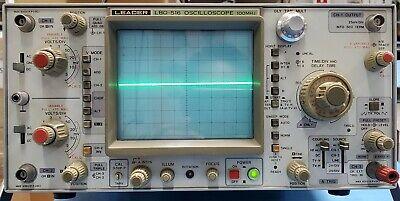 Leader Lbo-516 Oscilloscope 100 Mhz