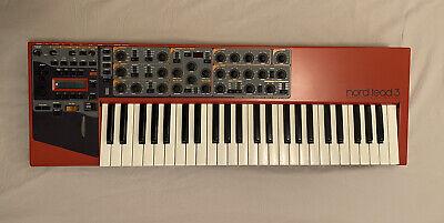 Clavia NORD LEAD 3 49-Key Virtual-Analog Digital Synthesizer + Soft Case +Manual