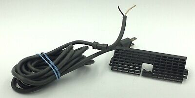 Genuine Ibm Selectric Electric Typewriter Power Cord With Power Cord Cover