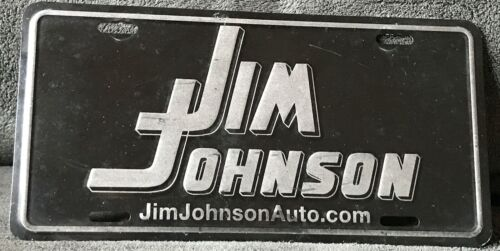 Jim Johnson Auto Kentucky License Plate Sign