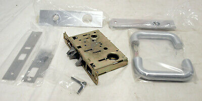 Yale 8708 Fl Mortise Lockset Right Hand - Mechanical Industrial