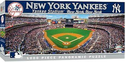 NEW YORK YANKEES STADIUM PANORAMIC JIGSAW PUZZLE NHL 1000 PC YANKEE STADIUM