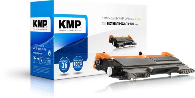 KMP Toner B-T47 für Brother TN-2220 / TN-2010 DCP-7055 7055W 7060D HL-2240 2240D