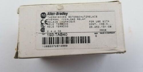Allen Bradley 193-TAB40