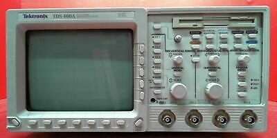 Tektronix Tds460a-05-1m-2f B071243 Tds460a Oscilloscope 400 Mhz 4 Channel