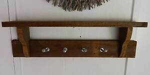 Combination shelf,coat,hat and or horse tackle rack Tura Beach Bega Valley Preview