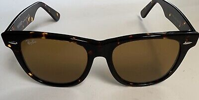 Ray-Ban RB2140 902/57 54mm Wayfarer Tortoise Frame Brown Lens Glasses