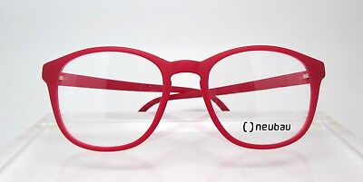neubau naturaIPX Sam T014 3000 50-18 Eyewear Glasses Eyeglass Frames Red