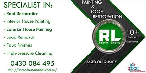 RL Painting & Roof Restoration Brisbane City Brisbane North West Preview