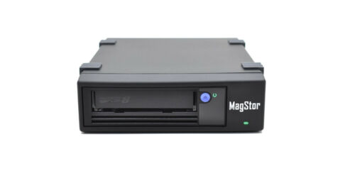 MagStor LTO8 HH SAS External Desktop Tape Drive (3 Year Warranty) MADE IN USA