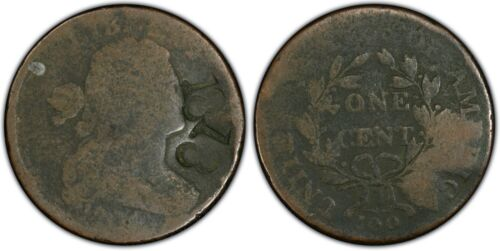 1804 S-266 Draped Bust Copper Large Cent PCGS Genuine - Counterstamp