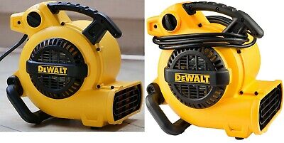 Air Mover Fan Dryer Carpet Floor Blower Portable 600 Cfm Dewalt Hp Speed New