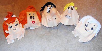 Halloween Mask Fred (FLINTSTONES MASKS SOFT HALLOWEEN  FRED  WILMA BARNEY PEBBLES BAM BAM)