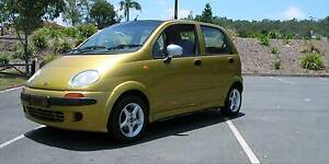 """GOLDIE"" (Daewoo Matiz Hatchback)   FOR SAL E  OR ""TRADE UP"" Pacific Pines Gold Coast City Preview"