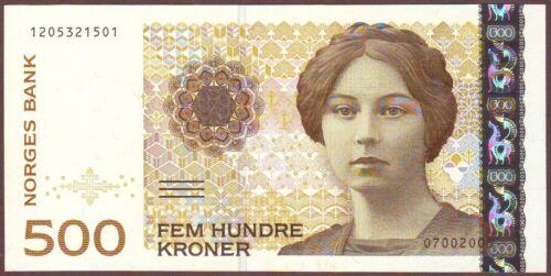NORWAY   500 Kroner  2005   UNC
