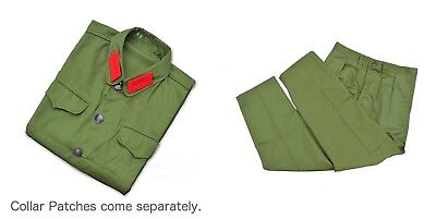1960's Chinese People's Liberation Army Officer Mao Cadre Uniform - Cadre Halloween