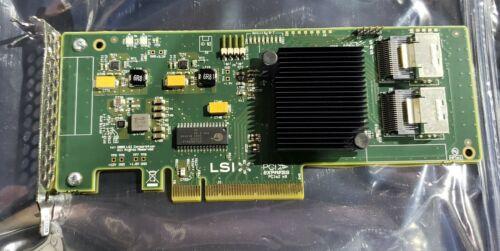 LSI SAS 9211-8i Low-profile eight-port 6Gb/s SATA and SAS PCIe HBA