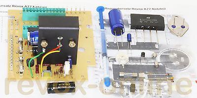 Repairkit, Reparatursatz, für Studer Revox A77 Power supply, Netzteil 1.077.540 ()