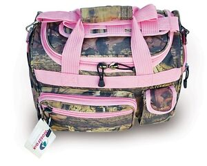 13-Pink-Trim-Mossy-Oak-Camo-Duffle-Bag-Ladys-Carry-On-Luggage-Hand-Bag-Range