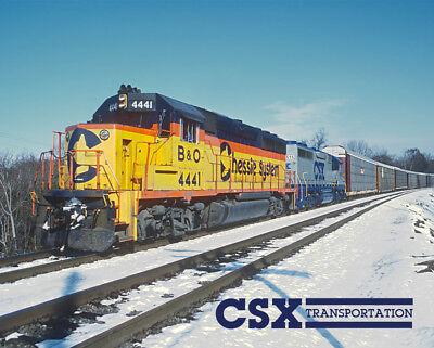Early CSX Autorack Train Sturdy Metal Sign