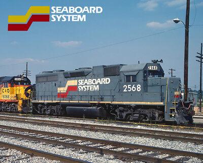 Seaboard System GP38-2 Train Metal Sign