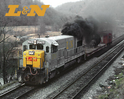 Louisville & Nashville U23B Train Sturdy Metal Sign