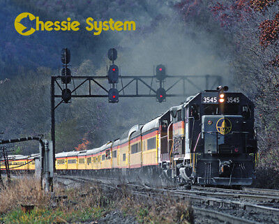 Chessie System Excursion Train Sturdy Metal Sign