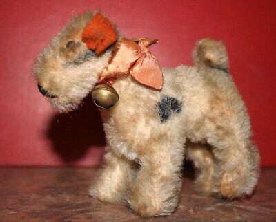 Vintage Steiff Fox Terrier Dog Airedale 4