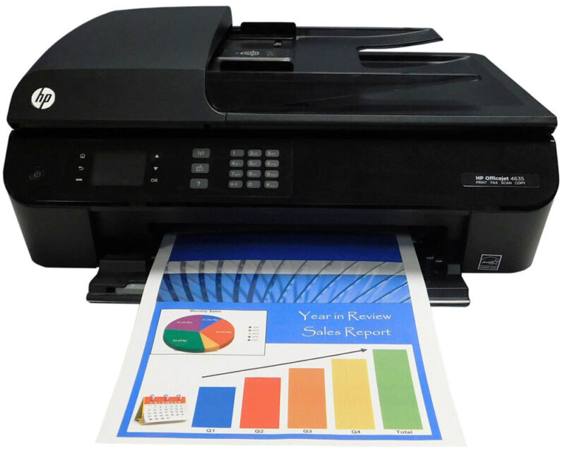 HP Officejet 4635 e-All-in-One Printer Refurbished