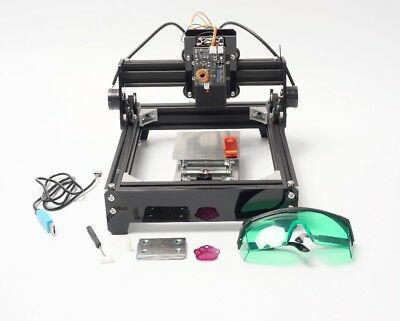 15w Mini Cnc Laser Engraver Printer Wood Cutter Marking Machine For Metal Stone