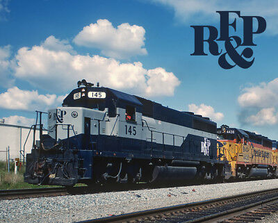 Richmond, Fredericksburg & Potomic Orange Blossom Special RF&P Train Metal Sign