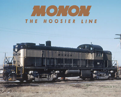 MONON Alco RS2 Train Sturdy Metal Sign